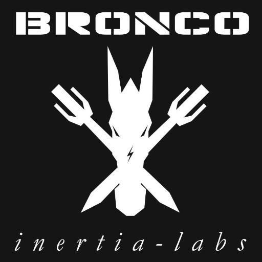 Battlebots Bronco Logo Insignia by Inertia Labs