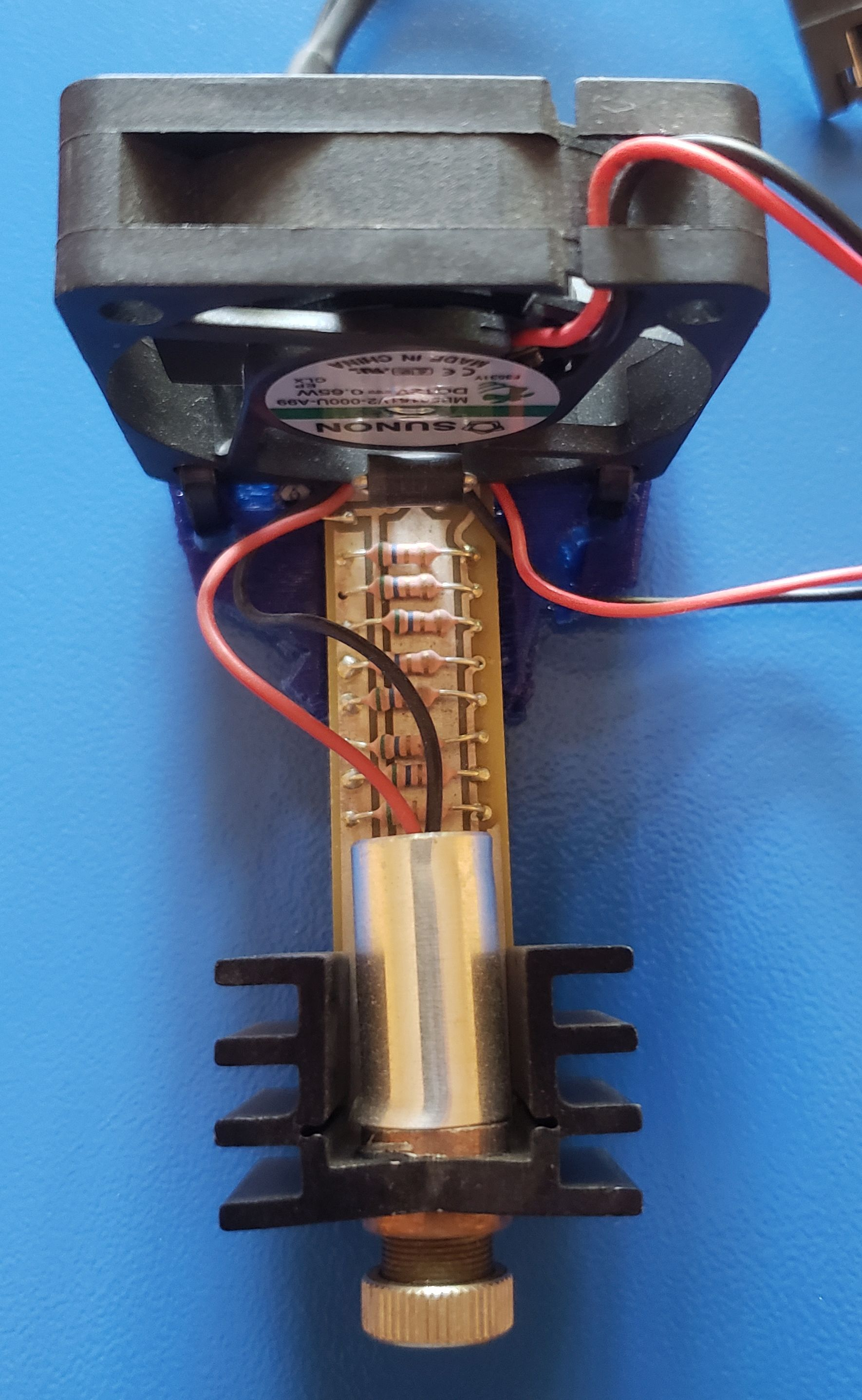 An L-Cheapo Laser Cutter Module, Original 2014 Model