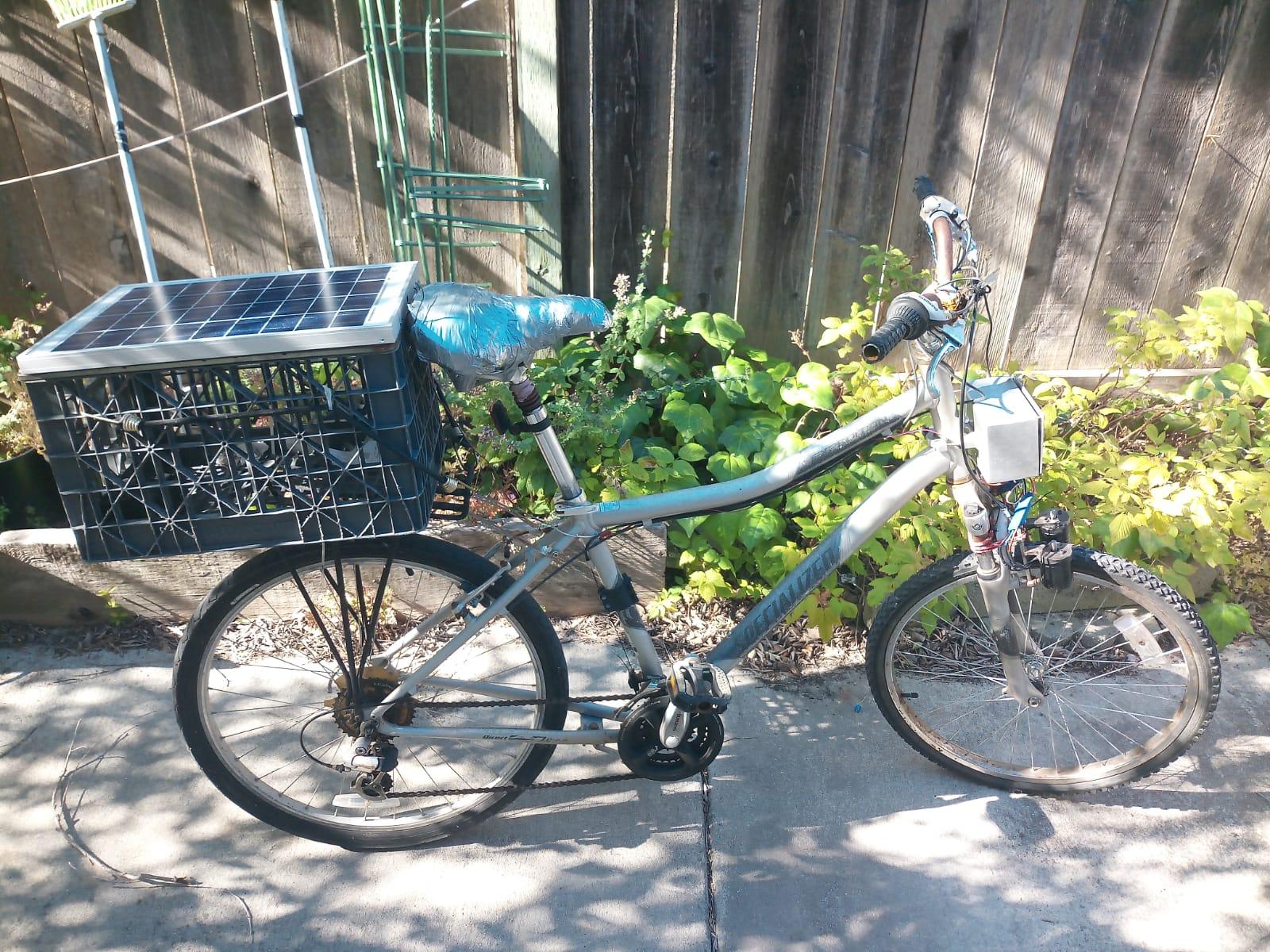 The New Bike - Custom Saddle and All!