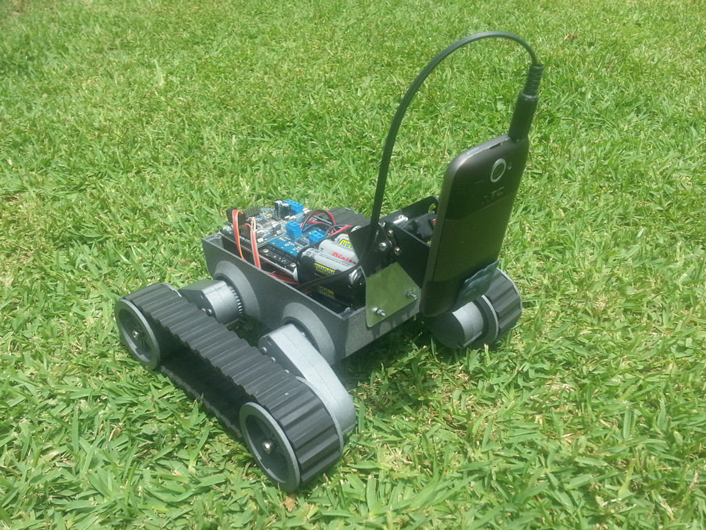 A Robots Anywhere Antbot Variant Made by a Customer